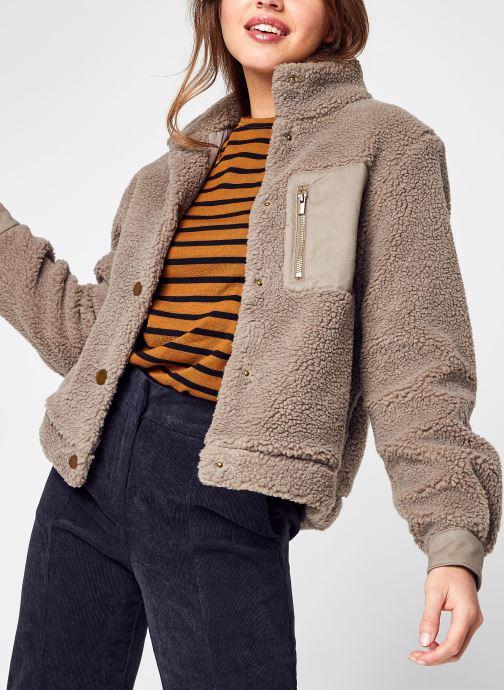 Vêtements Accessoires Vialuna Short Teddy Blouson/Su