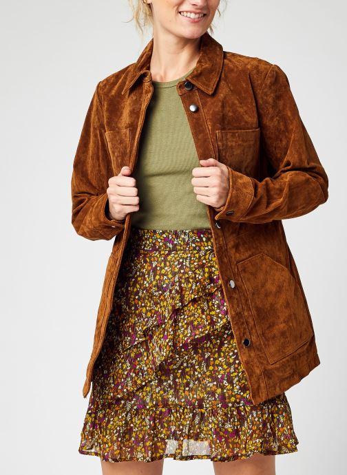 Abbigliamento Accessori Vifaith New Suede Jacket