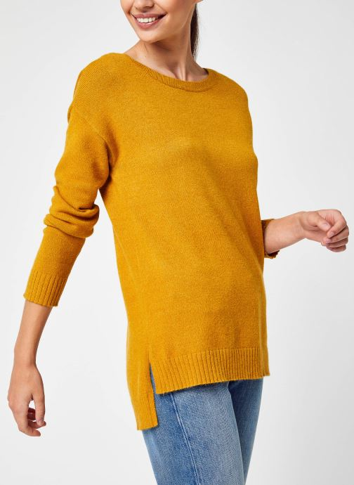 Ropa Accesorios Viril High Low L/S Knit Top - Fav