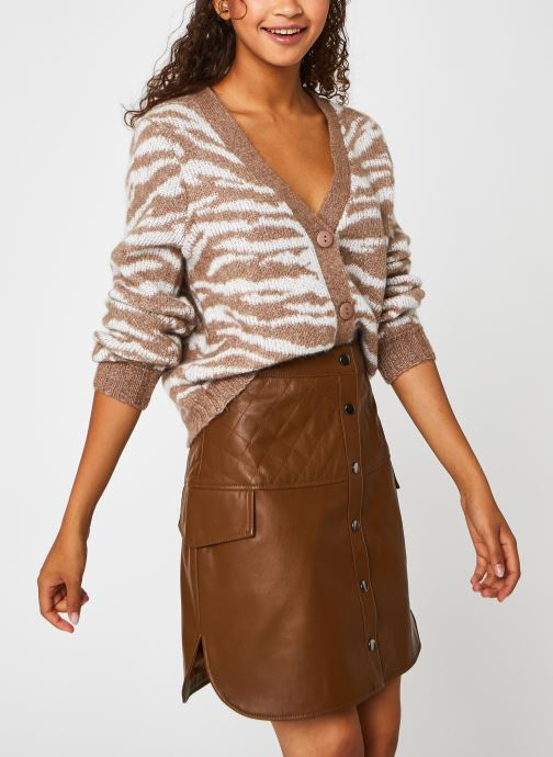 Vêtements Accessoires Viellie Pattern L/S Knit Cardigan/Su