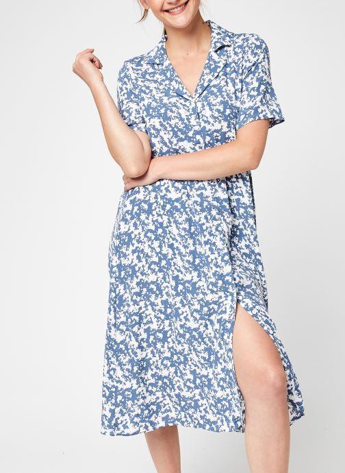 Kleding Vila Viaida S/S Midi Shirt Dress Wit detail
