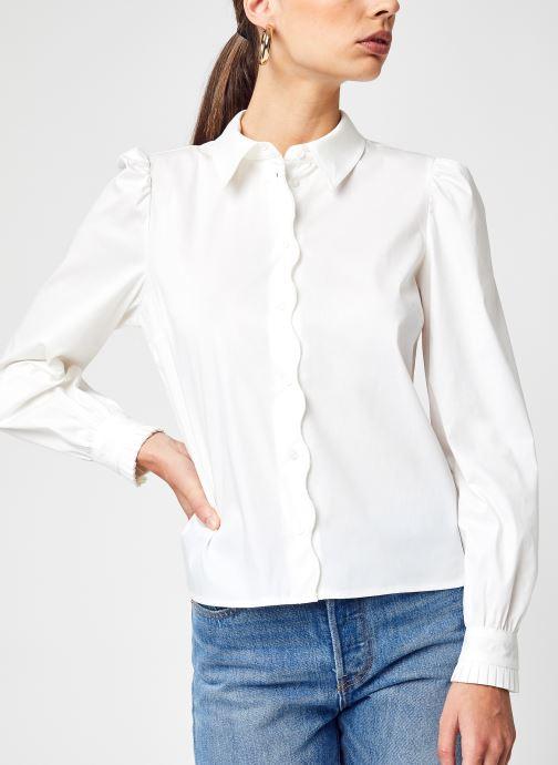 Vêtements Vila Vigima L/S Shirt/Su Blanc vue détail/paire