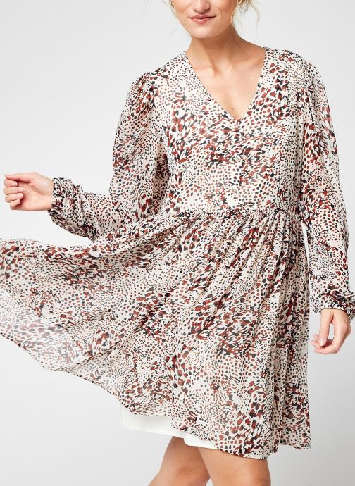 Vêtements Accessoires Visunara  V-Neck L/S Shirt Dress