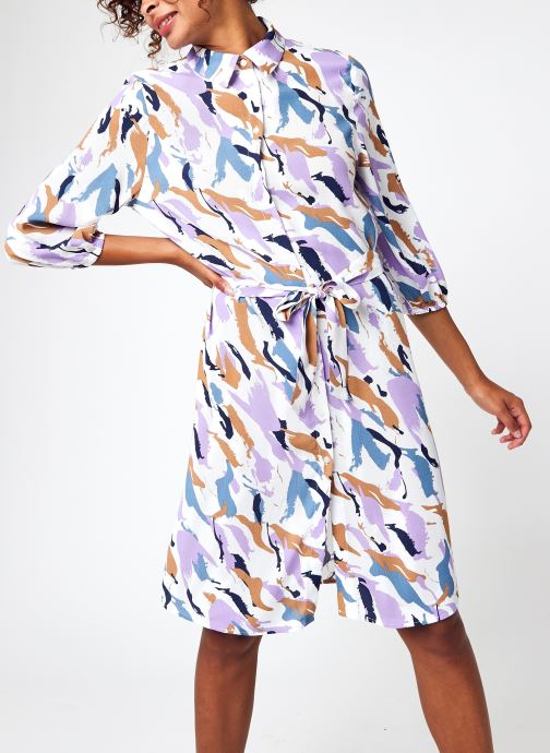 Kleding Accessoires Visandria 3/4 Midi Shirt Dress/Su