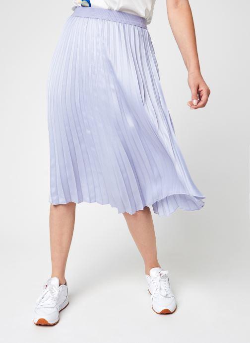 Kleding Vila Vipasel Hw Midi Skirt Paars detail