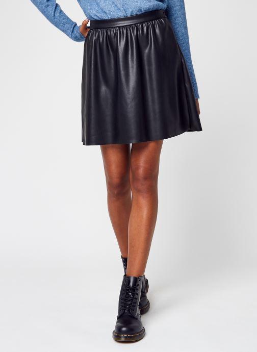 Kleding Accessoires Vipen Coated Rw Skater Skirt - Noos