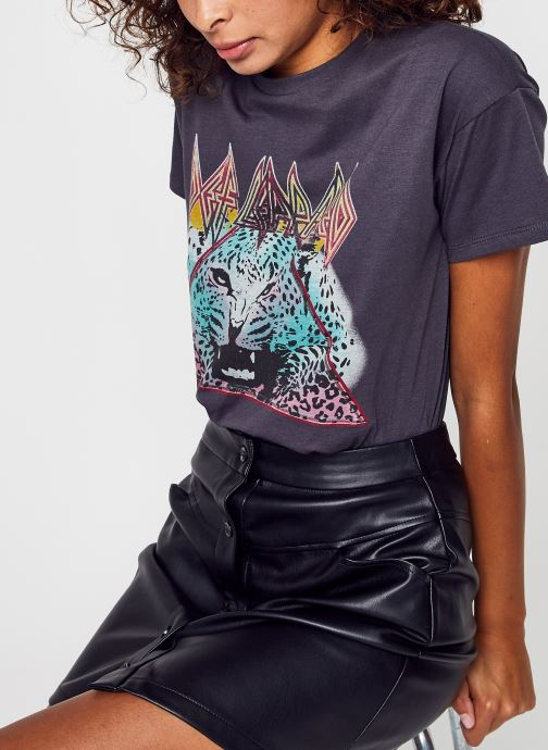 Vêtements Accessoires Virocksy Leopard S/S Boxy T-Shirt