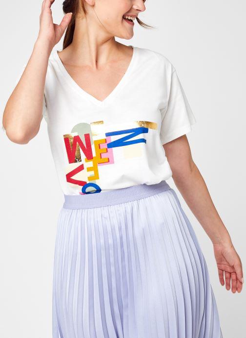 Ropa Accesorios Vinillas Foil V-Neck T-Shirt/Su/C17