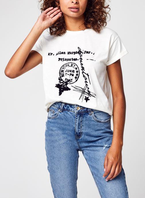 Kleding Accessoires Vinillas Velvet Print T-Shirt/C18