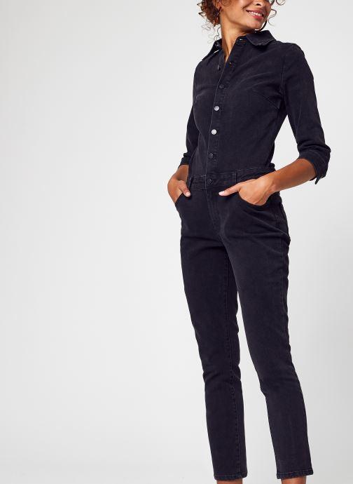 Vêtements Vila Vibarkanna New 3/4 Sleeve 7/8 Jumpsuit/5 Noir vue détail/paire