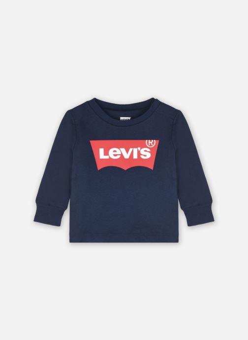 Vêtements Levi's L/S Batwing Tee Bleu vue détail/paire