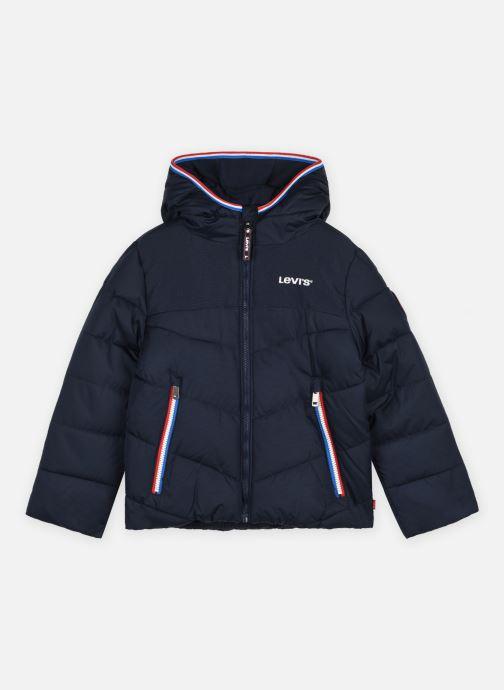 Vêtements Levi's Lvb Mix Media Puffer Bleu vue détail/paire