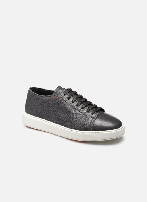 Sneaker Santoni Cleanic grau detaillierte ansicht/modell