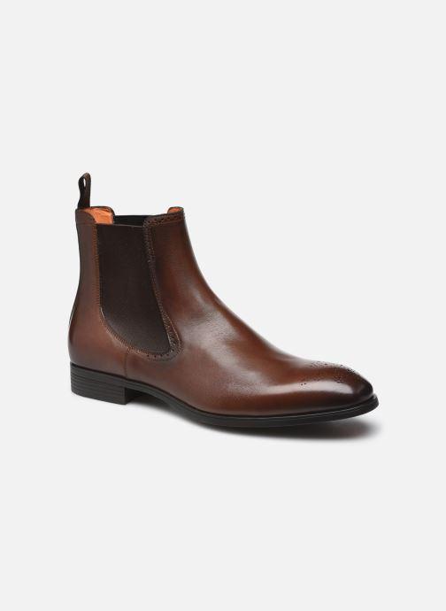 Stiefeletten & Boots Santoni Simon Bottines braun detaillierte ansicht/modell