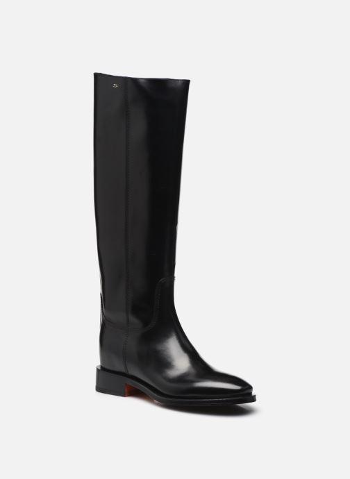 Stiefel Santoni Hermione schwarz detaillierte ansicht/modell