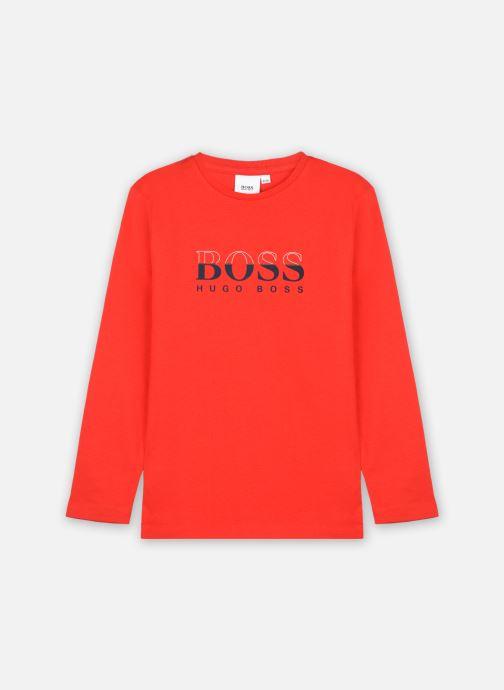 Vêtements BOSS J25L63 Rouge vue détail/paire