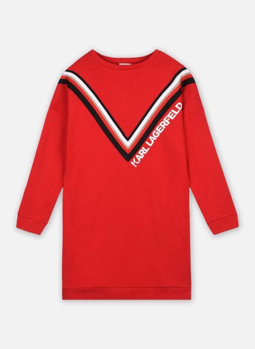 Vêtements Karl Lagerfeld Z12198 Rouge vue détail/paire