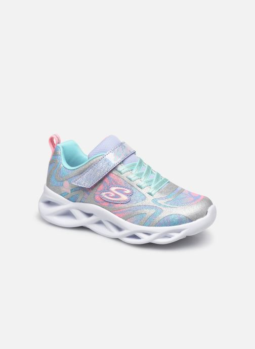 Sneaker Kinder TWISTY BRIGHTS DAZZLE FLASH - Lighted Satin Gore