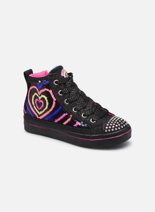 Sneaker Kinder TWI-LITES 2.0 HEARTBEATZ - Skechers Flip-Kicks Reversible Sequins