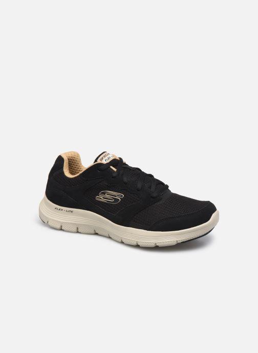 Chaussures de sport Homme FLEX ADVANTAGE 4.0 - Leather Overlay Knit Lace-Up Sneaker