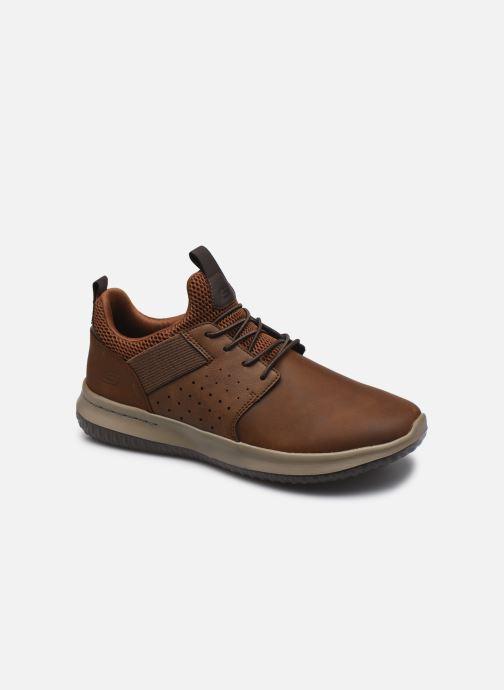Sneaker Skechers DELSON AXTON braun detaillierte ansicht/modell