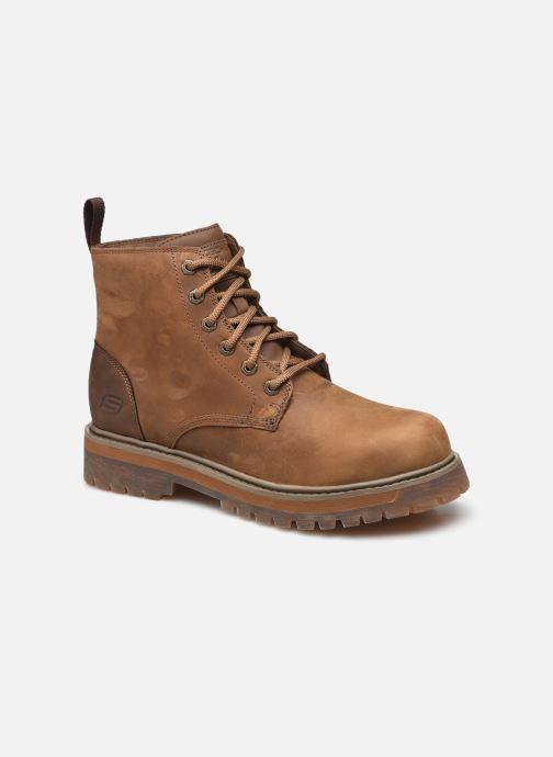 Stiefeletten & Boots Skechers ALLEY CATS TALGEN braun detaillierte ansicht/modell