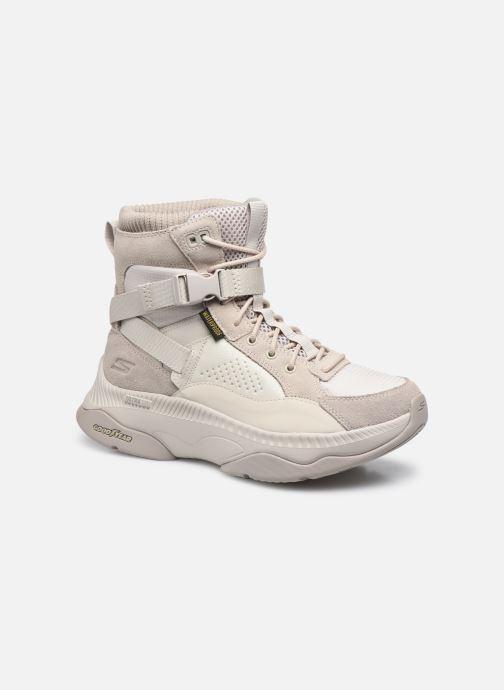 Chaussures de sport Skechers ON-THE-GO TEMPO HIGHLAND Blanc vue détail/paire