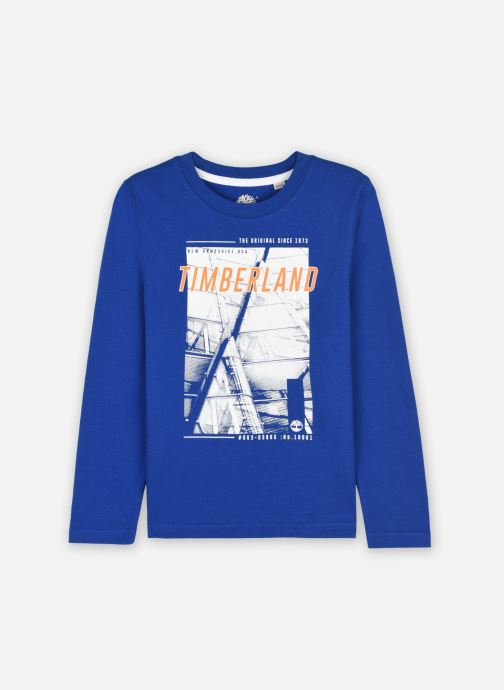 Kleding Timberland T25S43 Blauw detail