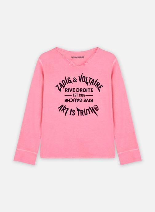 Vêtements Zadig & Voltaire X15304 Rose vue détail/paire