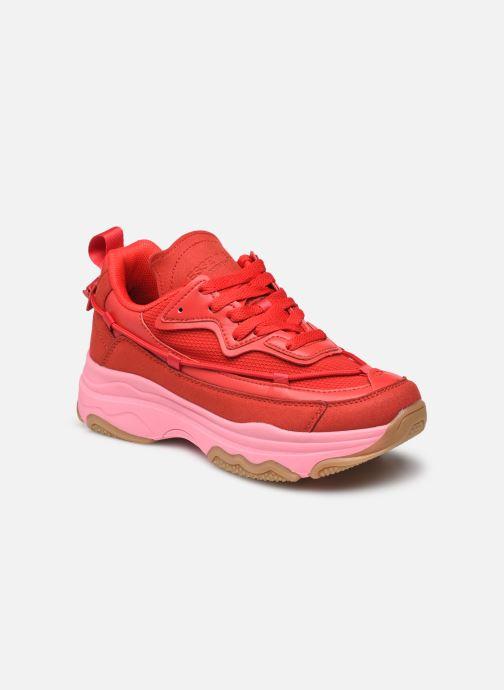 Sneakers Essentiel Antwerp Aventura Rood detail