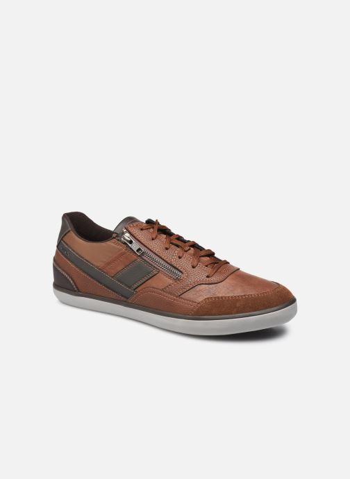 Sneaker Geox U ELVER U16BCA braun detaillierte ansicht/modell