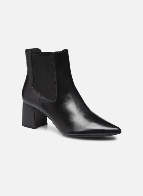Boots en enkellaarsjes Geox D BIGLIANA D16NMA Zwart detail