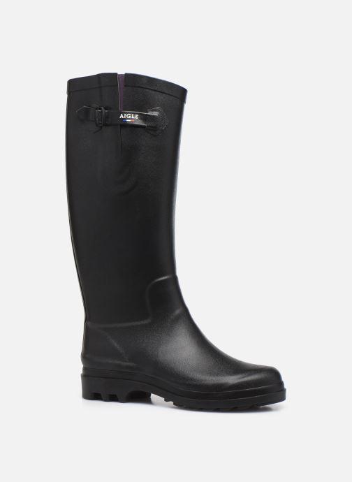 Stiefel Aigle Aiglentine 2 W schwarz detaillierte ansicht/modell