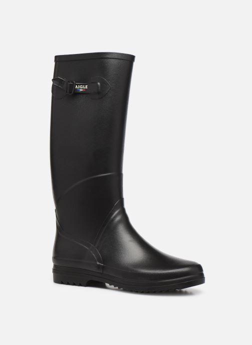 Stiefel Aigle Chantebelle Jp2 W schwarz detaillierte ansicht/modell