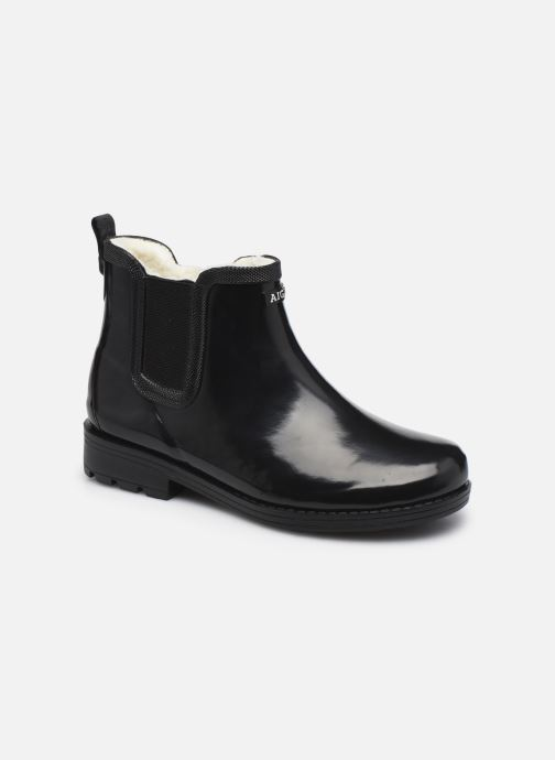 Stiefeletten & Boots Aigle Carville W Fur schwarz detaillierte ansicht/modell