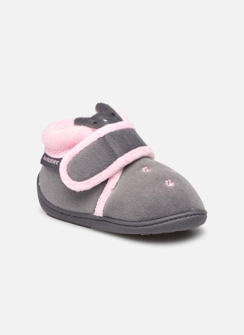 Pantoffels Kinderen Bottillon Velcro Fille Polyvelours