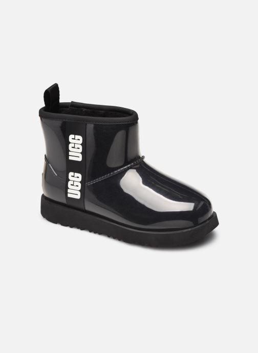 Stiefeletten & Boots UGG Classic Clear Mini II schwarz detaillierte ansicht/modell