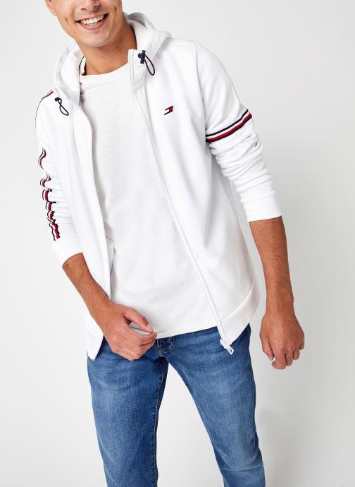 Abbigliamento Tommy Sport Tape Seasonal Fz Hoo Bianco vedi dettaglio/paio