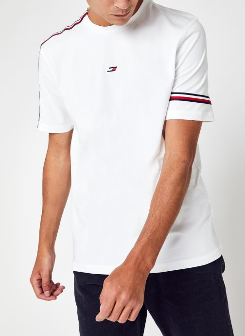 Abbigliamento Tommy Sport Tape Seasonal T-Shir Bianco vedi dettaglio/paio