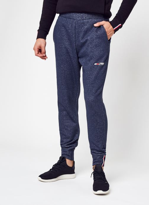 Abbigliamento Tommy Sport Logo Fleece Pant Azzurro vedi dettaglio/paio
