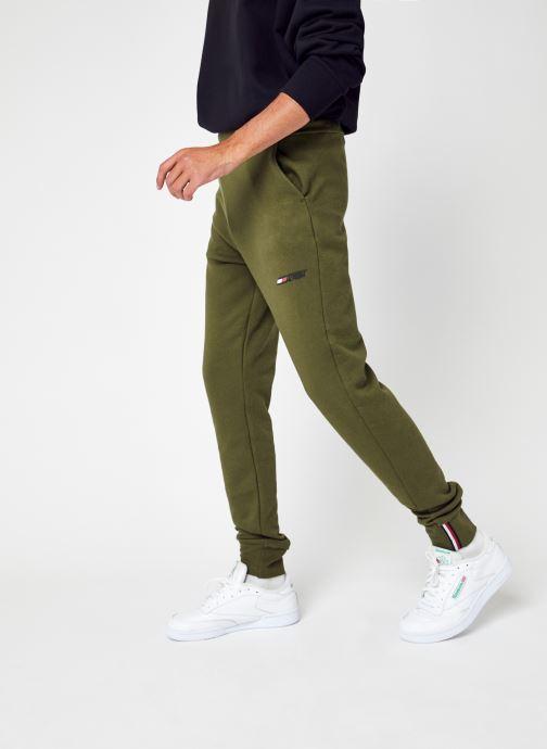 Abbigliamento Tommy Sport Logo Fleece Pant Verde vedi dettaglio/paio