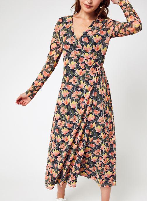 Vêtements NA-KD Overlap Midi Dress Multicolore vue détail/paire
