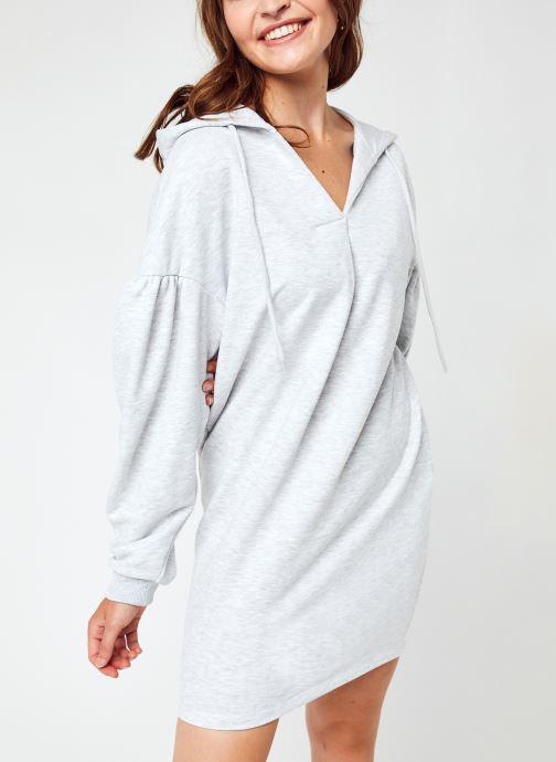 Vêtements NA-KD Hoodie Dress Gris vue détail/paire