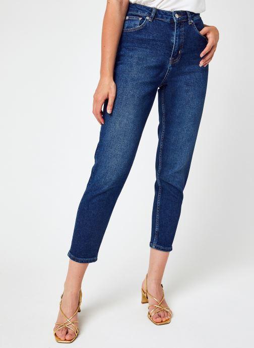 Kleding NA-KD Comfort Mom Jeans Blauw detail