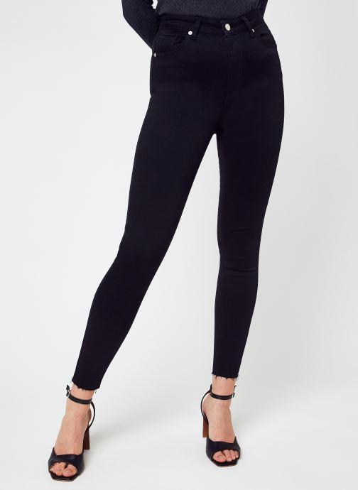 Abbigliamento NA-KD Skinny High Waist Open Hem Jeans Nero vedi dettaglio/paio