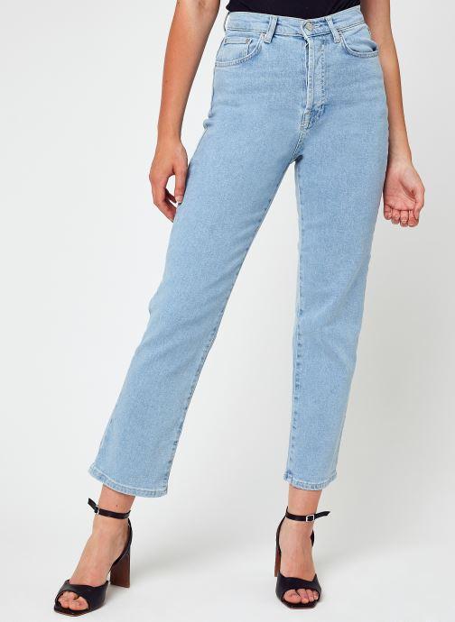 Abbigliamento NA-KD Straight High Waist Jeans Azzurro vedi dettaglio/paio