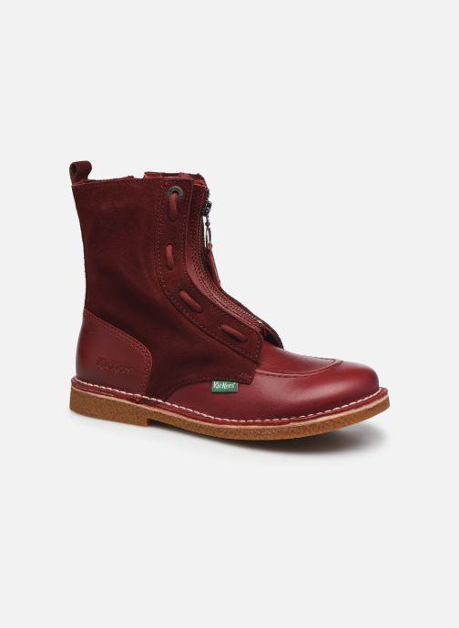 Stiefeletten & Boots Kickers MEETICKROCK weinrot detaillierte ansicht/modell