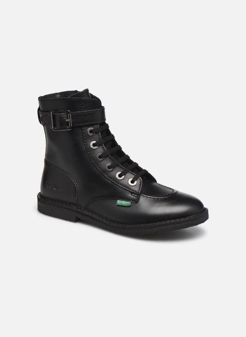 Bottines et boots Kickers KICK TREND Rouge vue détail/paire