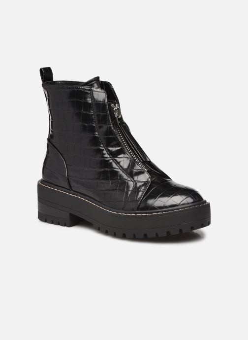 Stiefeletten & Boots Damen ONLBRANDY-12 PU CROC ZIP BOOT