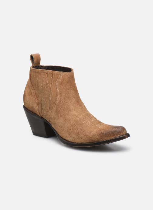 Bottines et boots Mexicana Kristinne Beige vue détail/paire
